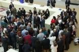 Los ganadores de la 35ª Edición, junto con sus profesores y familiares en el Palacio del Pardo