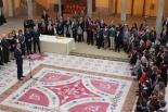 S.M. el Rey, recibe en el Palacio Real del Pardo a los ganadores de la 36º Edición