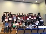 Foto de grupo de los finalistas de Cantabria XXXVII.
