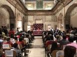 Finalistas y familiares en la Exposición de trabajos XXXVII Edición Castilla y León