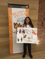 Sara Jiménez, ganadora del Concurso en la CCAA de Madrid