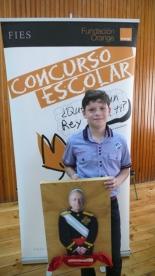GANADOR de la Comunidad Autónoma de Extremadura - Alumno: Miguel Andrés Morgado - Centro: Colegio Ntra. Sra. Del Carmen - Curso: 5º Primaria - Localidad: Villafranca de los Barros - Badajoz