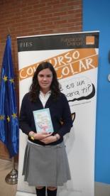 GANADOR de la Comunidad Valenciana - Alumno: Clara Palacios Marín - Centro: Colegio La Purísima - Curso: 2º E.S.O. - Localidad: Torrent - Valencia