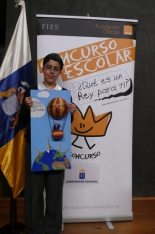 GANADOR de la Comunidad Autónoma de Canarias - Alumno: Luis Miranda Baldó - Centro: Colegio Sta. Rosa de Lima - Curso: 6º Primaria - Localidad: San Cristóbal de la Laguna - Santa Cruz de Tenerife