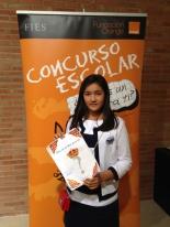 GANADOR de la Comunidad Valenciana - Alumno: Clara Kei March Okuyama - Centro: American School - Curso: 6º Primaria - Localidad: Puçol - Valencia
