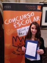 GANADOR de la Comunidad Autónoma de las Islas Baleares - Alumno: Carlota Otero Marí - Centro: Colegio Ntra. Sra. De la Consolación - Curso: 1º ESO - Localidad: