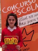 GANADOR de la Comunidad Autónoma de Cantabria - Alumno: Laura Carrillo Rodriguez - Centro: Colegio Puente III - Curso: 4º Primaria - Localidad: Astillero