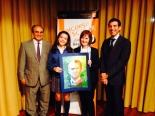 Ganadora de Asturias: Paula Fernández García Colegio Nazaret - Curso: 1º ESO - Localidad: Oviedo - Profesora: Nuria García