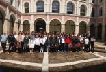 Foto de grupo de los finalistas de Castilla y León