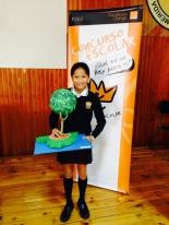 Ganadora de Extremadura: Mercedes Ortiz Romero - Colegio Claret - Curso: 6º Primaria - Localidad: Don Benito, Badajoz - Profesora. Mercedes González