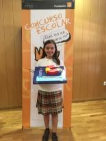 GANADORA DE VALENCIA: Ana Bauxauli Pieró - Colegio Inmaculado Corazon de Maria - 5º Primaria - Valencia