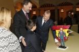 El ganador de Asturias en el Palacio del Pardo, con motivo de la 36º edición