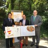 Ganadora de Andalucía con Autoridades