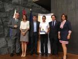Ganador de Canarias con Autoridades canarias