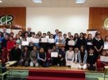Foto de grupo de los finalistas.