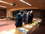 Autoridades en la Exposición de trabajos XXXVII Edición Andalucía