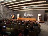 Finalistas y familiares de Canarias de la XXXVII Edición
