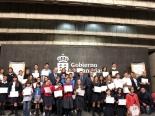 Foto de grupo de los finalistas de Canarias de la XXXVII Edición