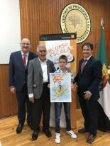 El ganador de Extremadura de la XXXVII Edición con Autoridades