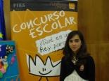 GANADOR de la Comunidad Autónoma de Galicia - Alumno: Irene Rico Gómez - Centro: CEIP Vista Alegre - Curso: 6º Primaria - Localidad: Burela - Lugo - Profesor: Carlos Peino