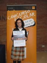 GANADOR de la Comunidad Valenciana - Alumno: Noelia Marí Corraliza - Centro: Colegio Santa Ana y San José de la Montaña - Curso: 6º Primaria - Localidad: Albal - Valencia - Profesor: Justa Fernández Pérez