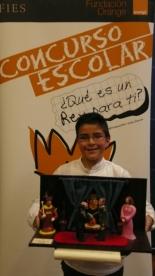 GANADOR de la Comunidad Autónoma de Castilla La Mancha - Alumno: Alejandro Caba Vega - Centro: C.P. Altagracia - Curso: 4º Primaria - Localidad: Manzanares – Ciudad Real
