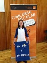 GANADOR de la Comunidad Autónoma de Extremadura - Alumno: Sofía Romero Pérez - Centro: Colegio Donoso Cortes - Curso: 5º Primaria - Localidad: Don Benito - Badajoz
