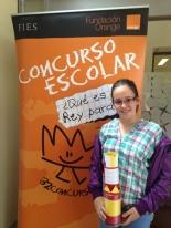 GANADOR de la Comunidad Foral de Navarra - Alumno: Sandra Martínez Pina - Centro: Colegio Juan de Palafox - Curso: 6º Primaria - Localidad: