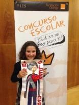 GANADOR de la Comunidad Autónoma de Galicia - Alumno: Saray Pérez Cives - Centro: Colegio Manuela Rial Mouzo - Curso: 4º Primaria - Localidad: A Coruña - Profesora: Leticia Alvariñas