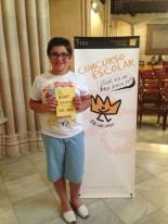 GANADOR de la Comunidad Autónoma de las Islas Baleares - Alumno: Marc Llobera Suau - Centro: Colegio Joan Mas - Curso: 6º Primaria - Localidad: Pollença - Mallorca