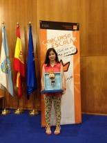 Ganadora de Galicia: Naila Mª González Rodríguez - Colegio CPR La Merced - Curso: 6º Primaria - Localidad: Sarria, Lugo - Profesora: Mª Carmen García