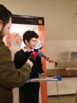 Ganador de Navarra: Álvaro Escolar Rodríguez - Centro: Colegio El Redín - Curso: 1º ESO - Profesor: Iñigo Olcoz - Localidad: Pamplona