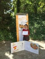 GANADORA DE ANDALUCÍA: Adriana Sofía Cotorruelo Luque Colegio Puertoblanco 5º Primaria Algeciras - Cádiz