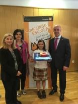 Ganadora de Valencia con Autoridades